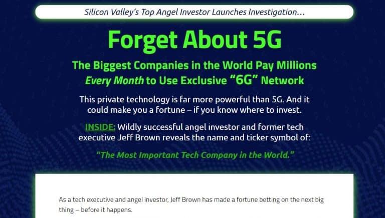 Jeff Brown 6G