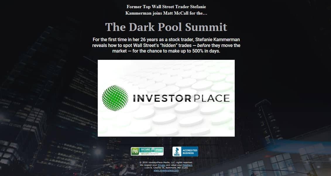 Stefanie Kammerman's The Dark Pool Summit
