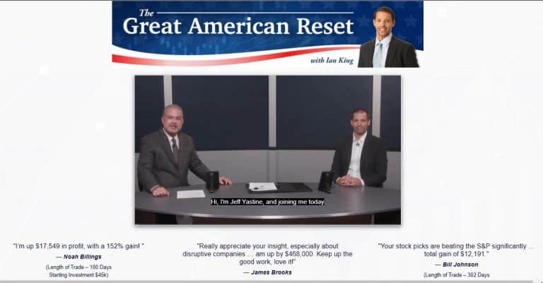 The Great American Reset [Ian King]