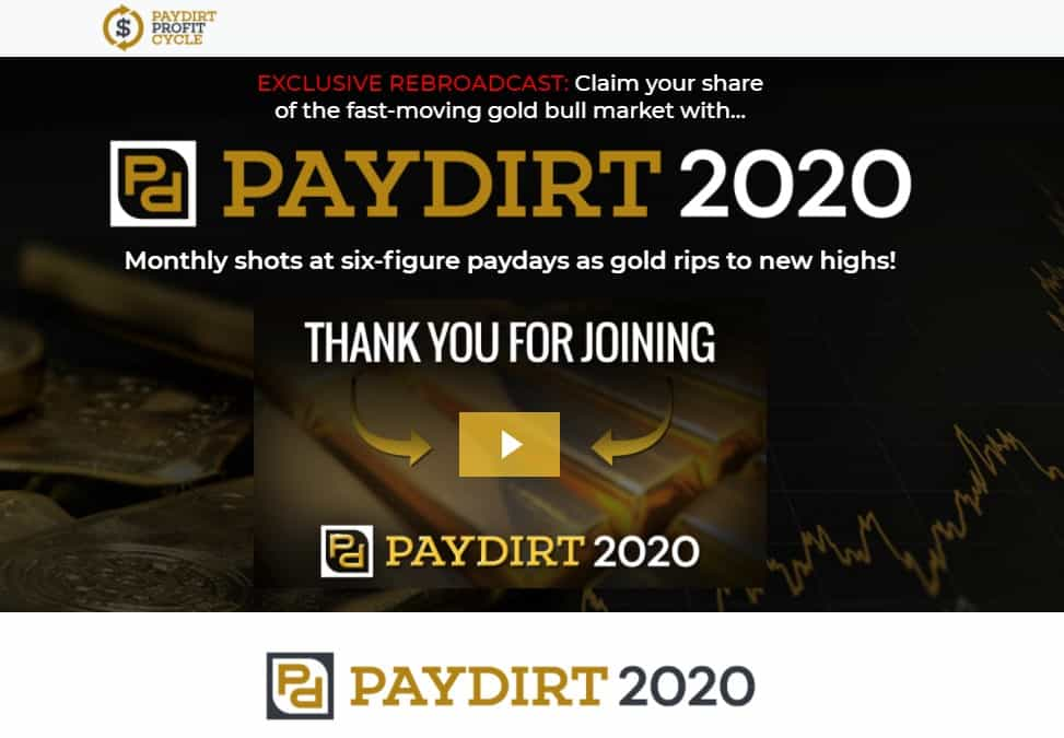 Paydirt 2020 Summit