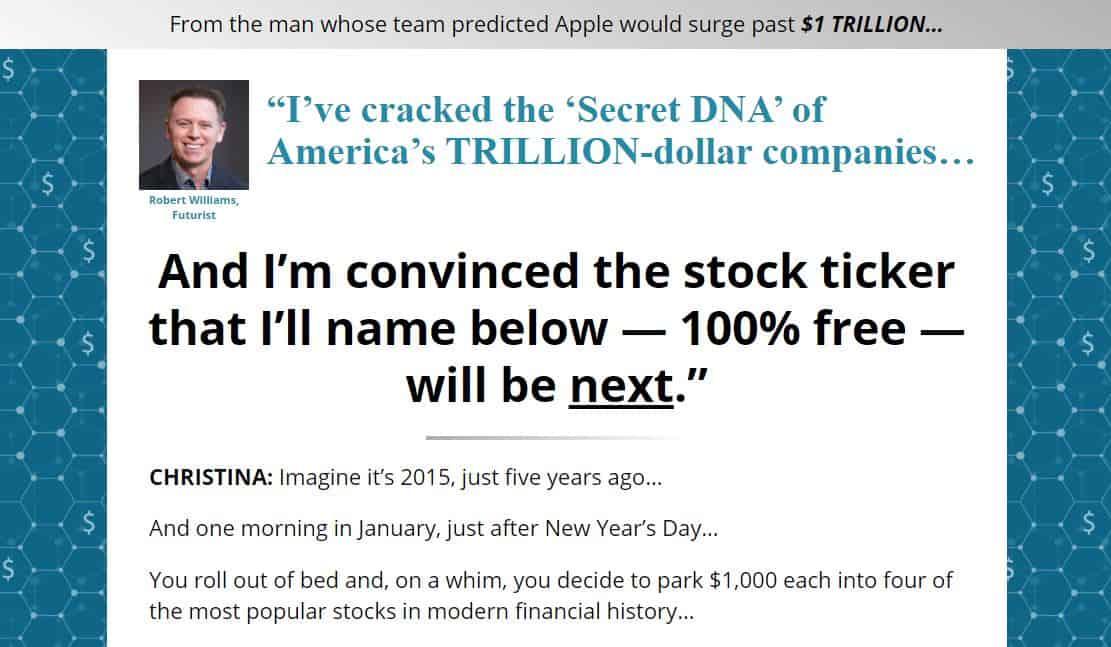 Trillion Dollar DNA