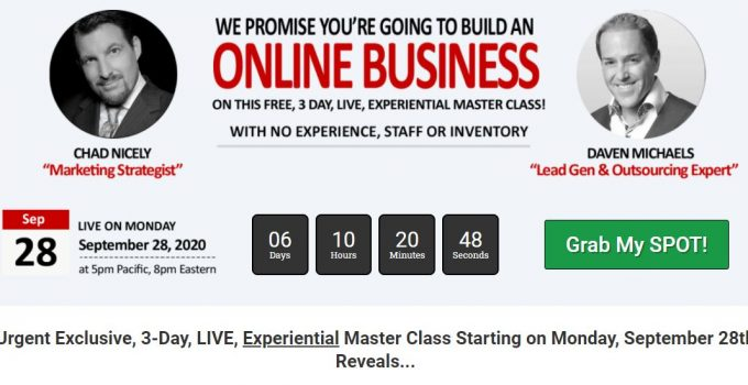 3 Day Business Masterclass