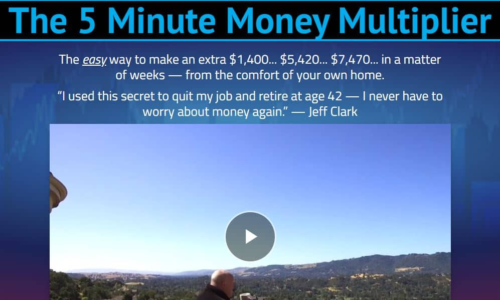 The 5 Minute Money Multiplier