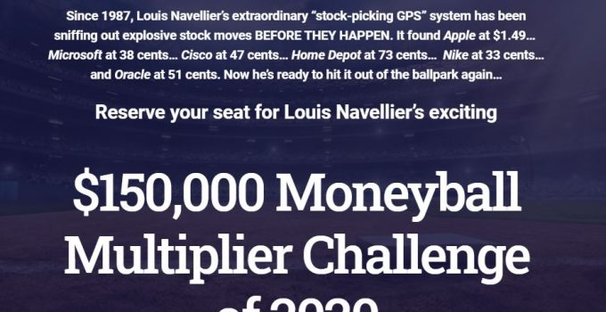 Moneyball Multiplier Challenge 2020