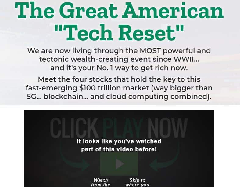 The Great American Tech Reset