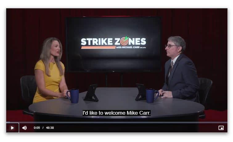 Michael Carr's Strike Zones