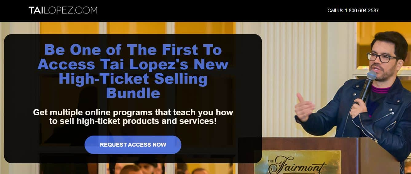 """""""Tai Lopez High Ticket Sales System"""" [Unbiased Review] 11"""