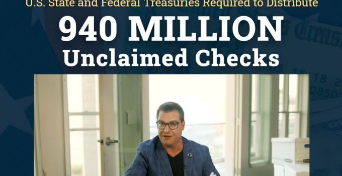 940 Million Unclaimed Checks