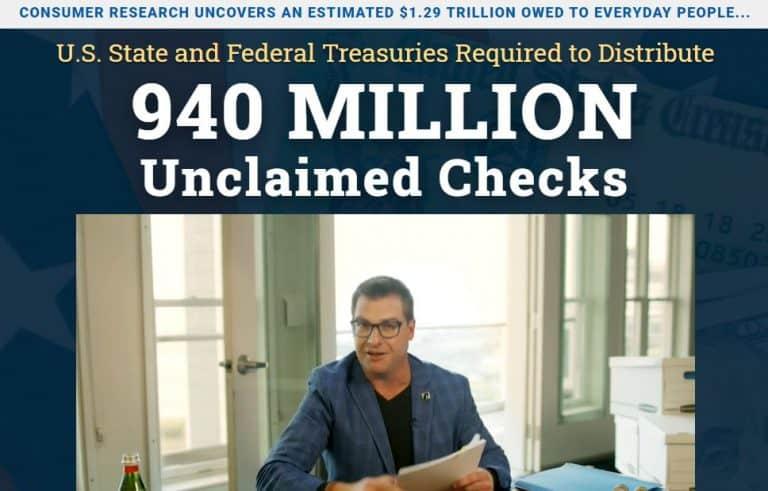 940 Million Unclaimed Checks