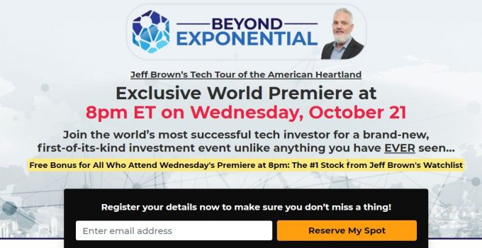 Is Jeff Brown Beyond Exponential Summit Legitimate? 15