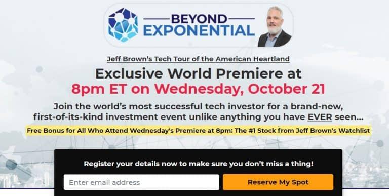 Is Jeff Brown Beyond Exponential Summit Legitimate? 15