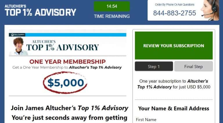 Altucher's Top 1% Advisory