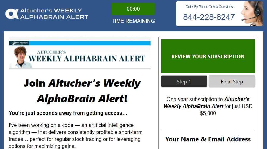 Altucher's Weekly Alphabrain Alert
