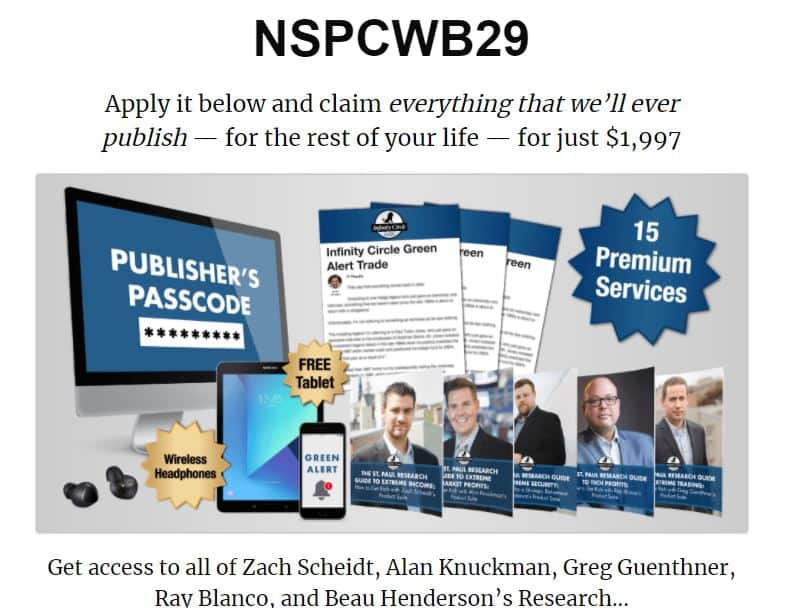 Publishers Passcode