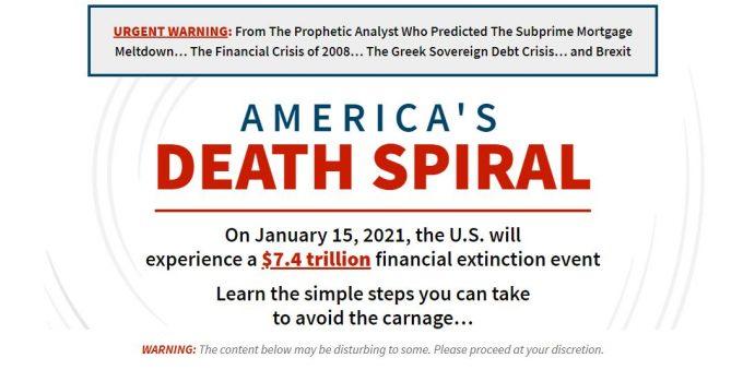 America's Death Spiral