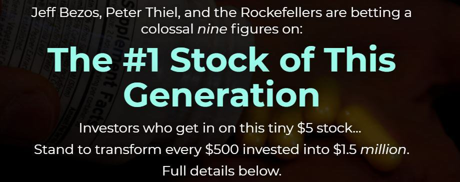 The #1 Stock Of This Generation