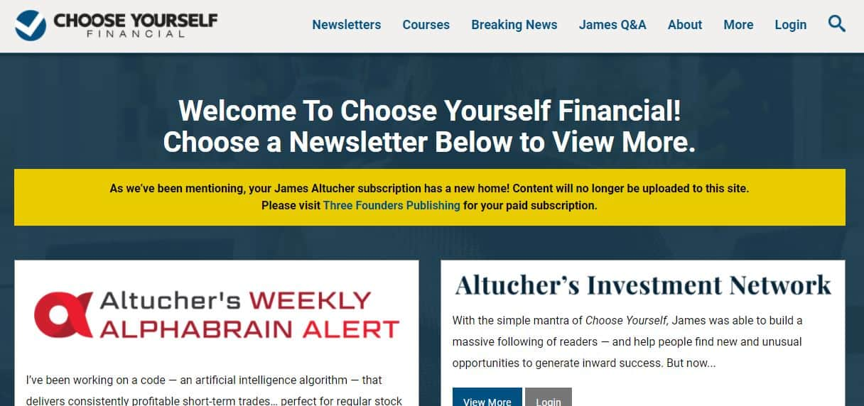 Choose Yourself Financial