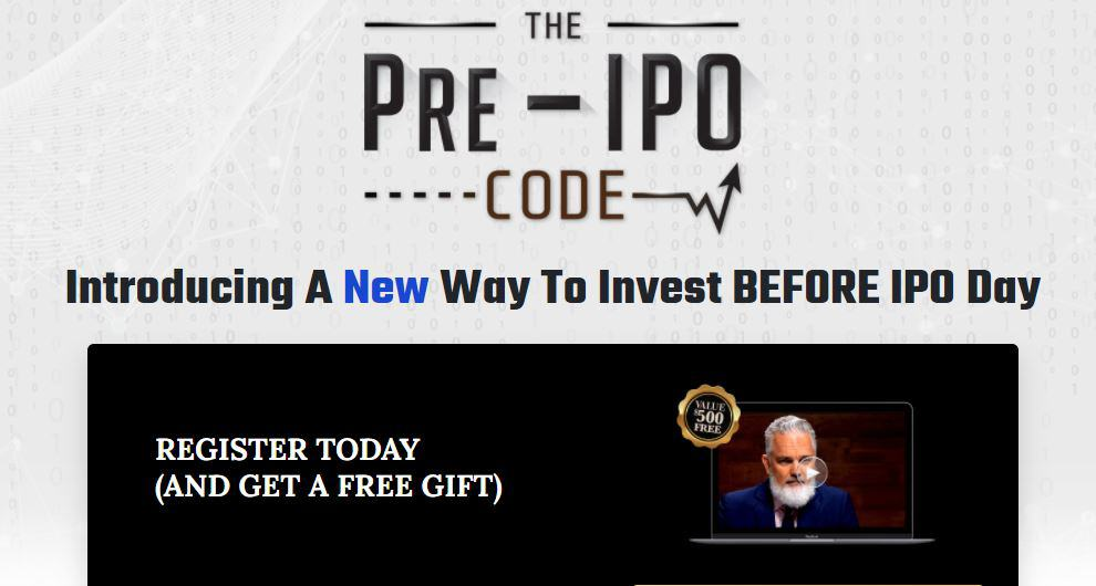 The Pre IPO Code