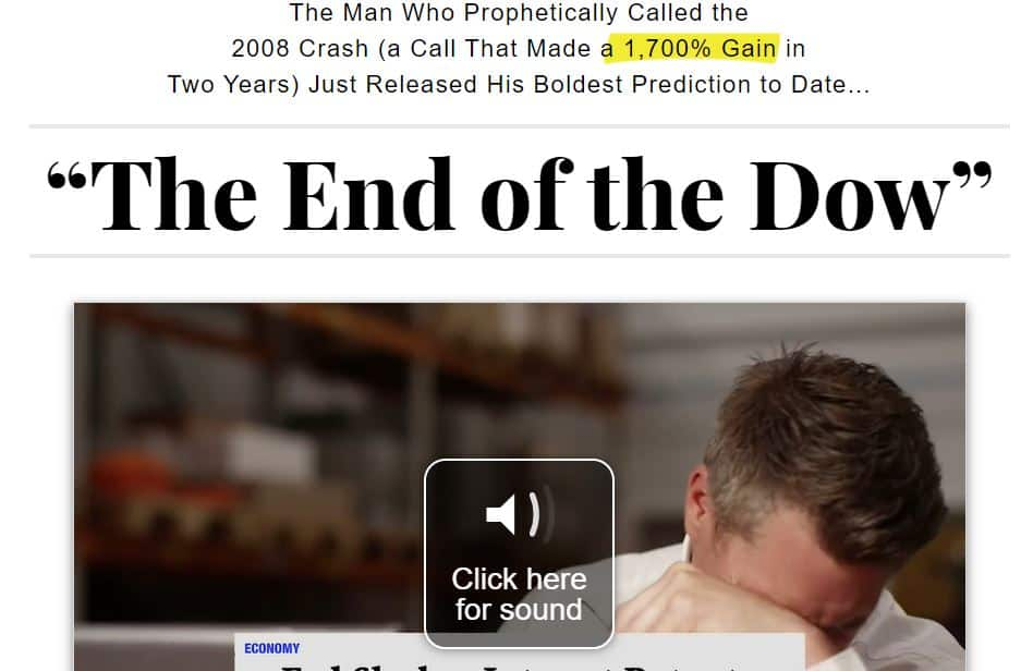 The End Of The Dow