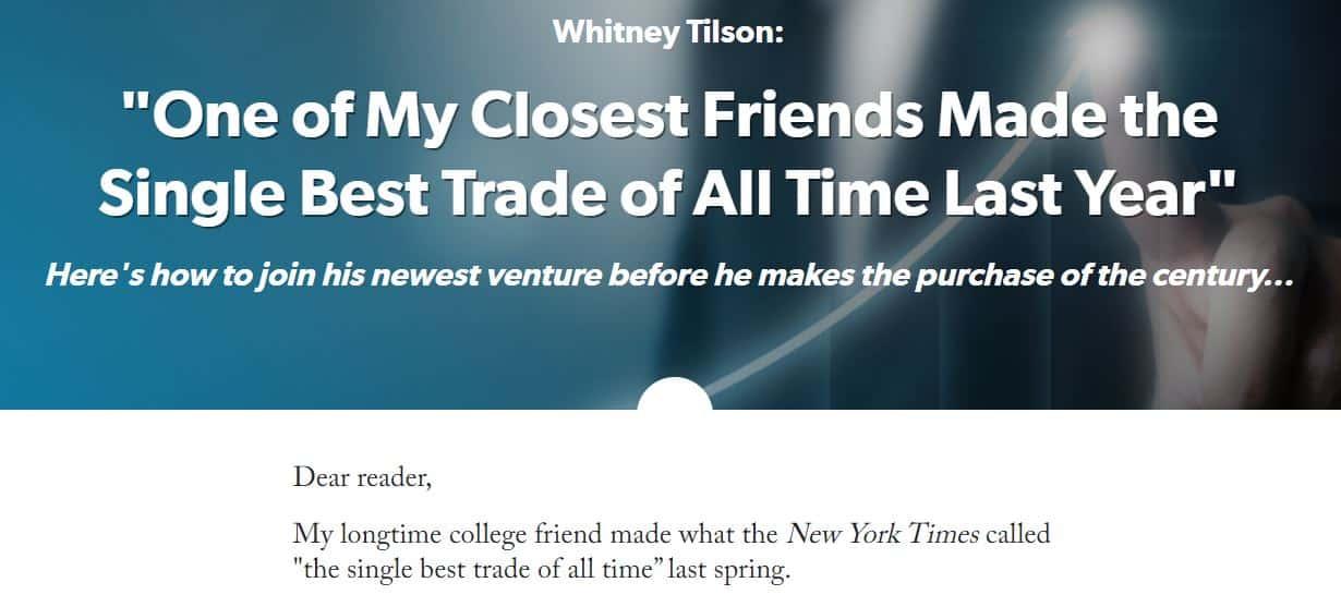 Whitney Tilson's Empire Spac Investor