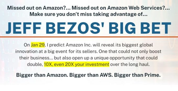 Jeff Bezos Big Bet