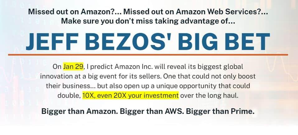 Jeff Bezos Big Bet