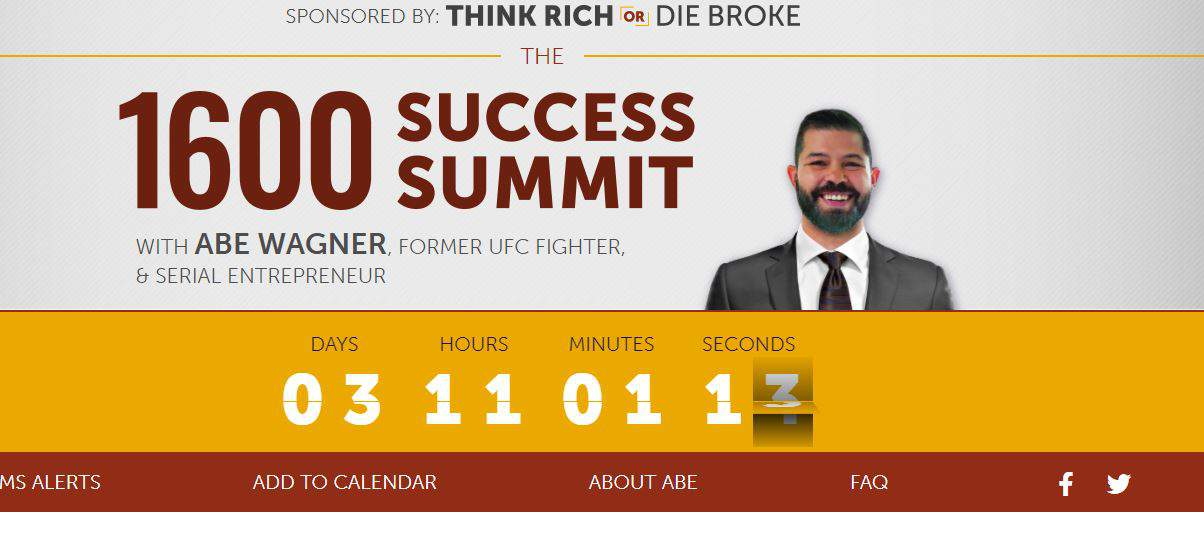Is The 1600 Success Summit Legit? [Abe Wagner] 11