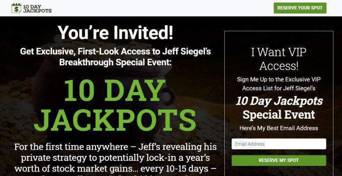 Is 10 Day Jackpots by Jeff Siegel Legit? 4