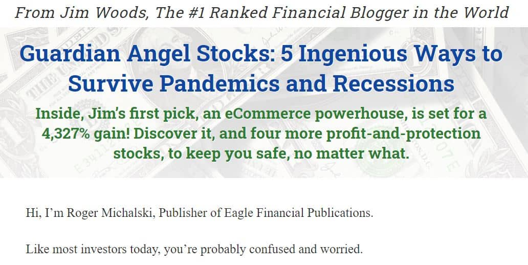 What Are Roger Michalski's 5 Guardian Angel Stocks? 11
