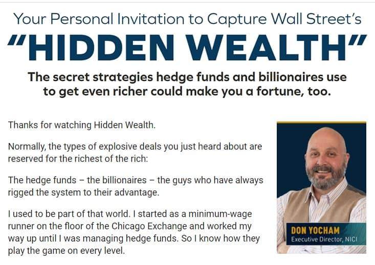 Hidden Wealth