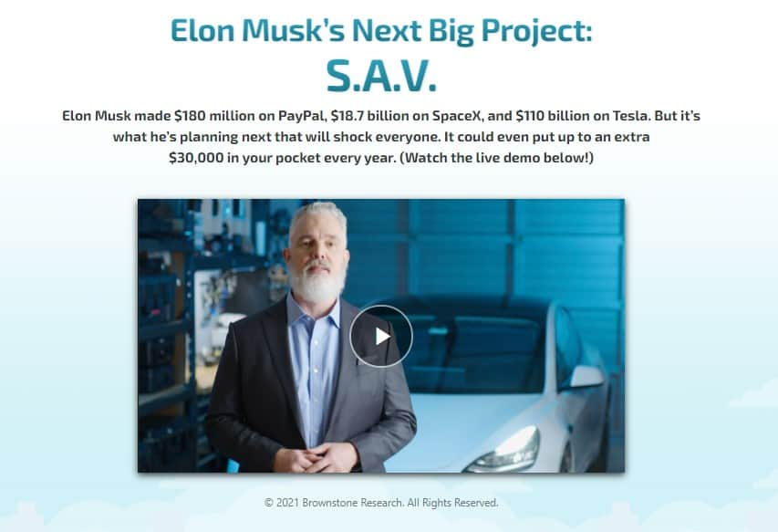 Elon Musk's Next Big Project (S.A.V)