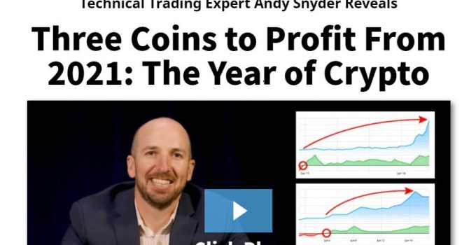 3 Coins To Profit From In 2021
