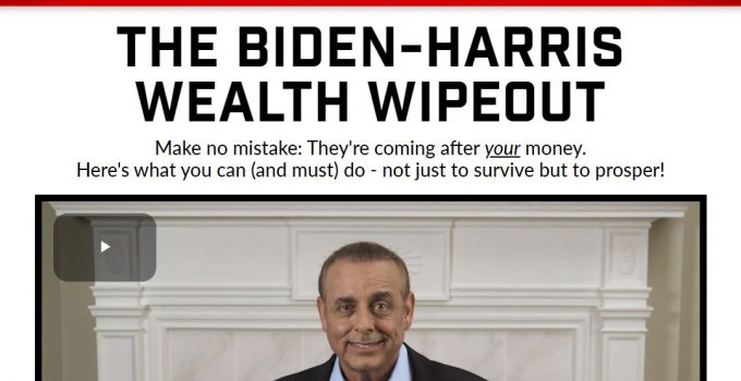 The Biden-Harris Wealth Wipeout