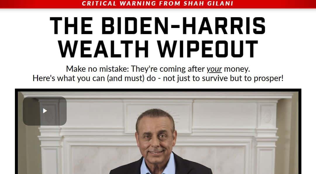 The Biden-Harris Wealth Wipeout
