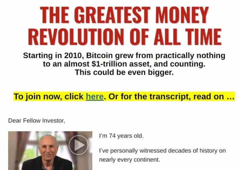 The Greatest Money Revolution of All Time