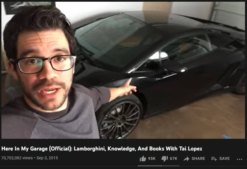 Tai Lopez The Timeless Marketer (Here in my garage)